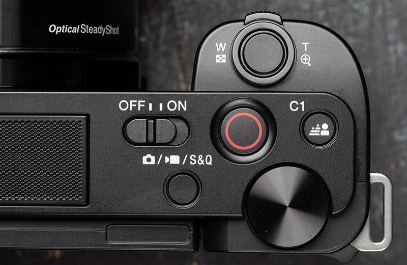 Управление Sony ZV-E10