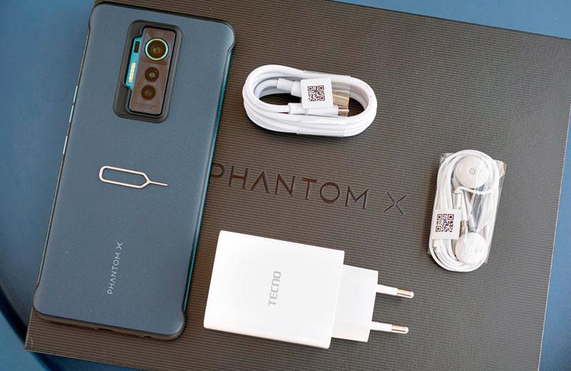 Распаковка Techo Phantom X