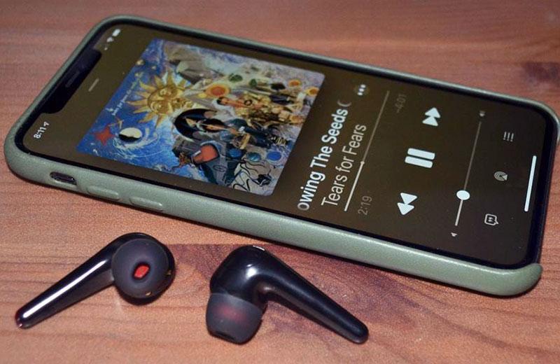 1More ComfoBuds Pro качество звонков