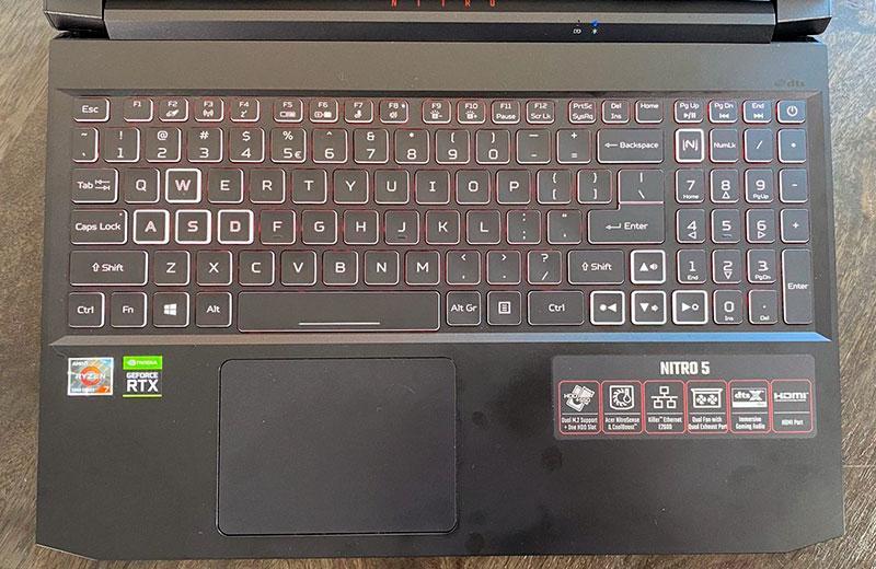 Клавиатура Acer Nitro 5