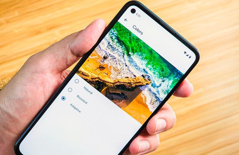 Дисплей Google Pixel 5a 5G