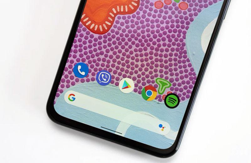 Google Pixel 5a 5G рамки экрана