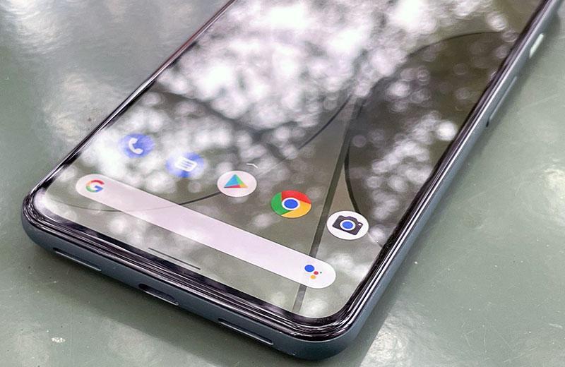 Google Pixel 5a 5G панель экрана