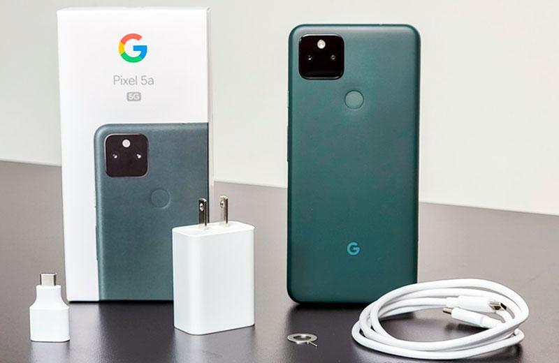 Распаковка Google Pixel 5a 5G и комплектация