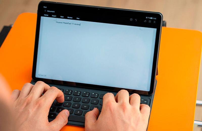 Huawei MatePad 11 на практике