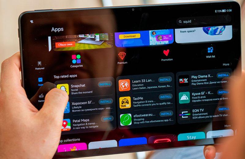 Приложения Huawei MatePad 11