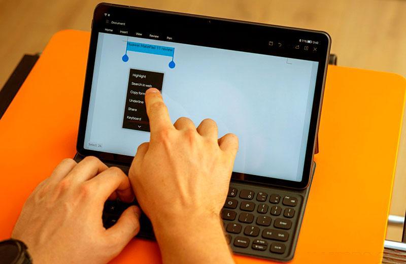 Производительность Huawei MatePad 11