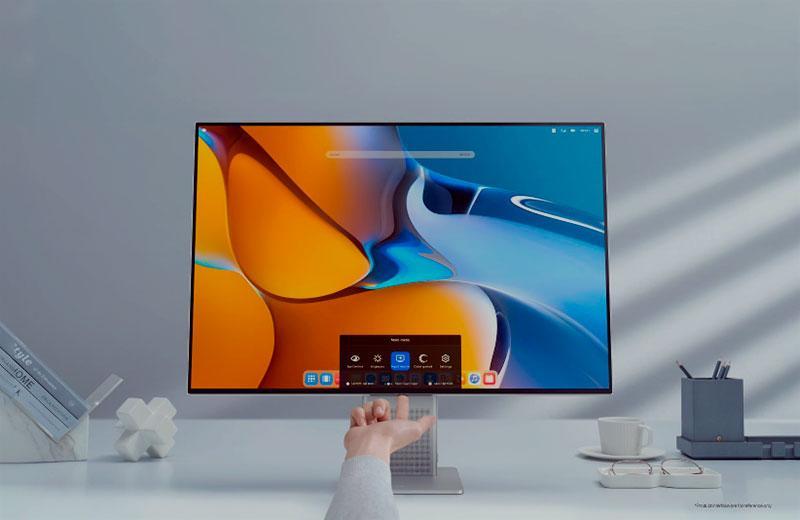Обзор Huawei MateView монитора с беспроводной трансляцией — Отзывы TehnObzor