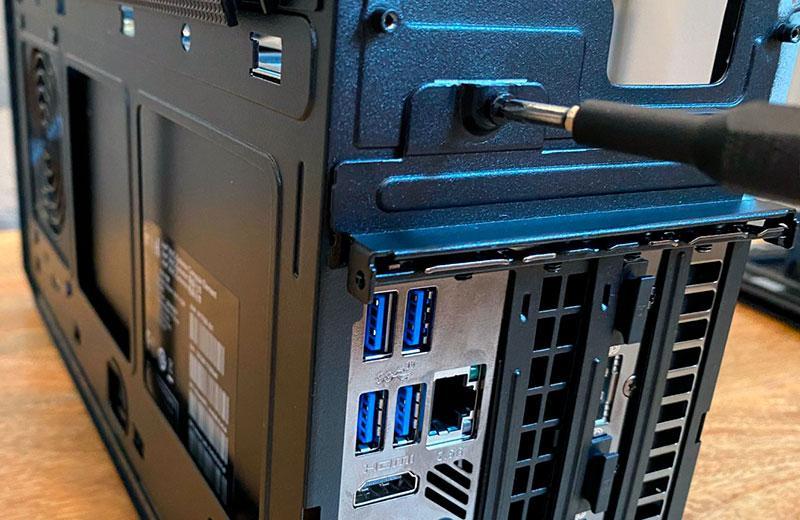 Железо Intel NUC 11 Extreme Kit