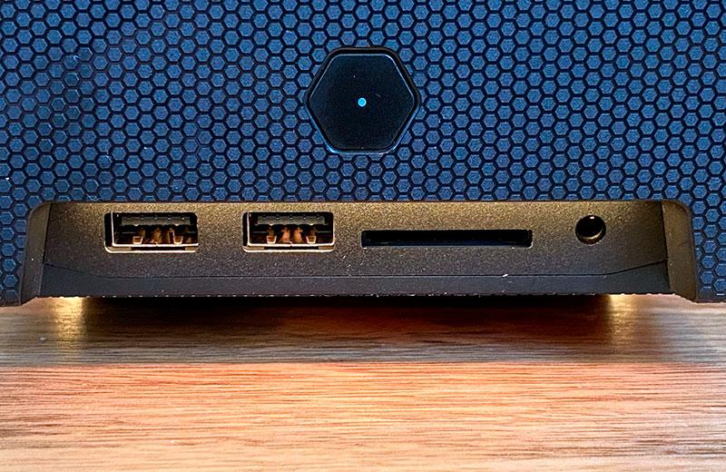 Порты Intel NUC 11 Extreme Kit