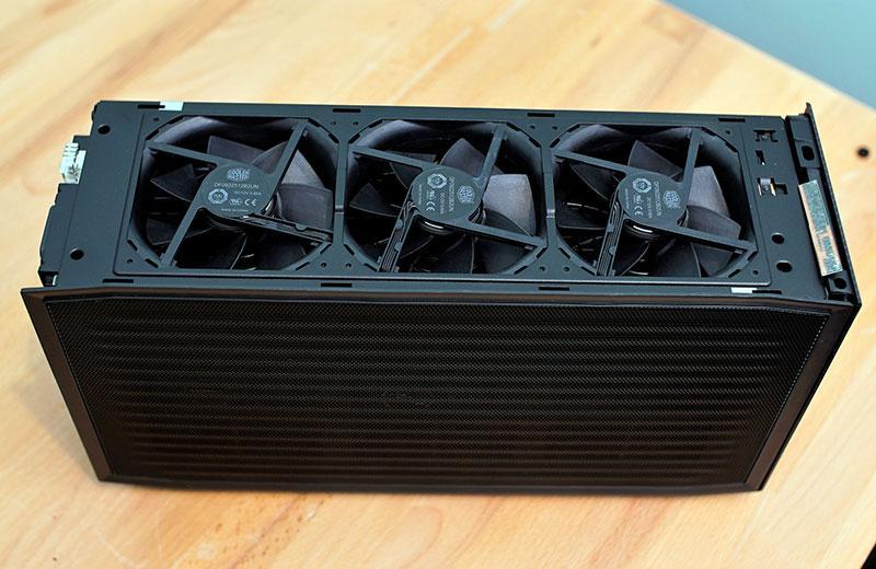 Конструкция Intel NUC 11 Extreme Kit