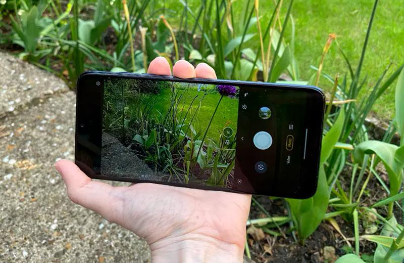 Съёмка на Motorola Moto G50