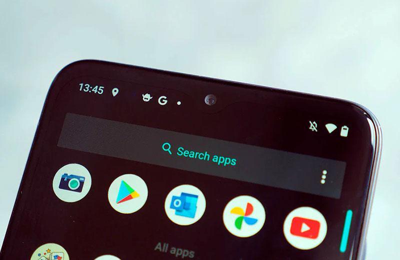 Интерфейс Motorola Moto G50