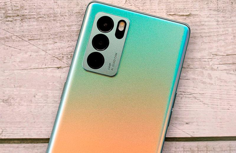 Камеры Oppo Reno 6 Pro