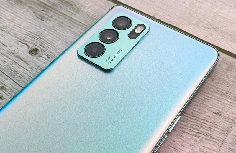Oppo Reno 6 Pro камера смартфона