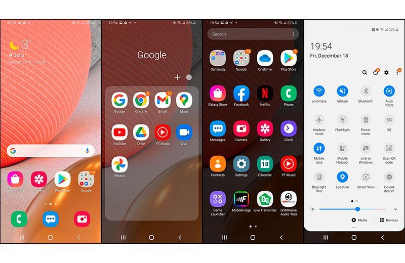 ПО в Samsung Galaxy A42 5G