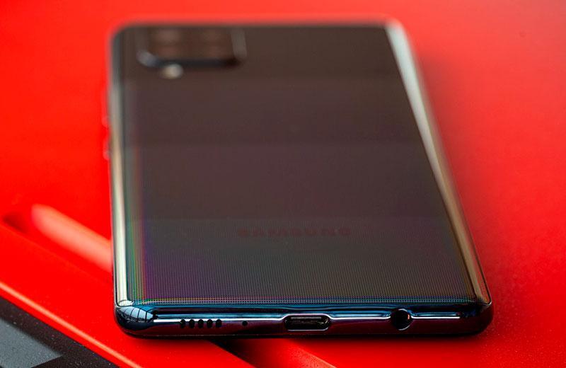 Samsung Galaxy A42 разъёмы