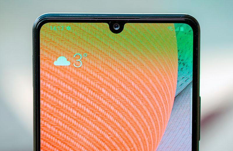 Samsung Galaxy A42 вырез дисплея