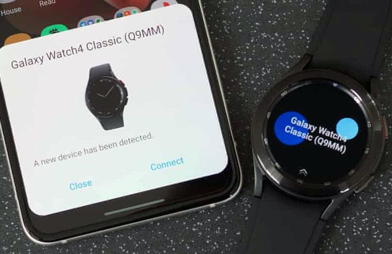 Подключение Samsung Galaxy Watch 4 и связь со смартфоном