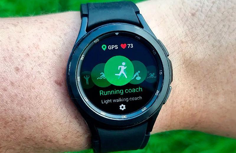 Тренировки с Samsung Galaxy Watch 4