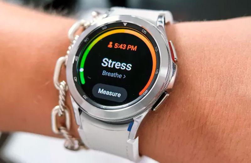 Samsung Galaxy Watch 4 Classic измерение стресса