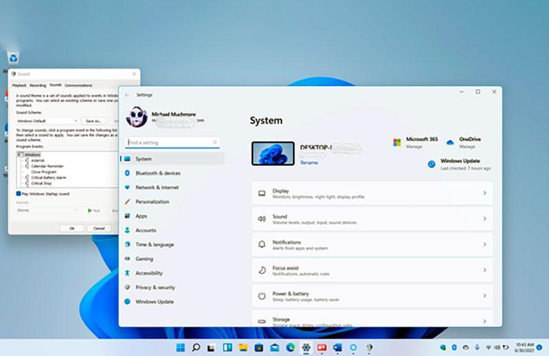 Настройки Windows 11