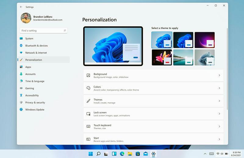 Windows 11 настройки