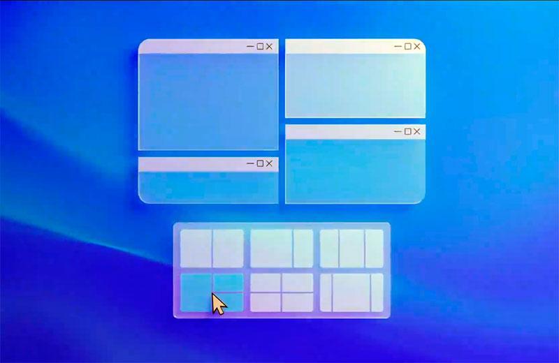 Windows 11 расположение окон