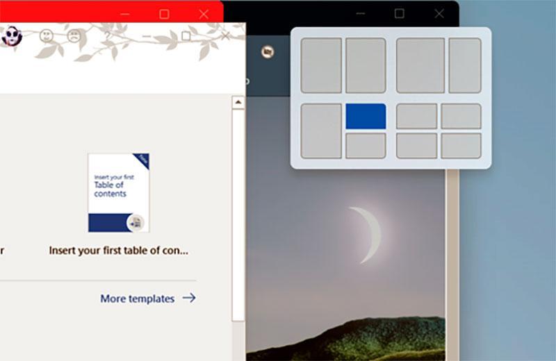Windows 11 настройка окон