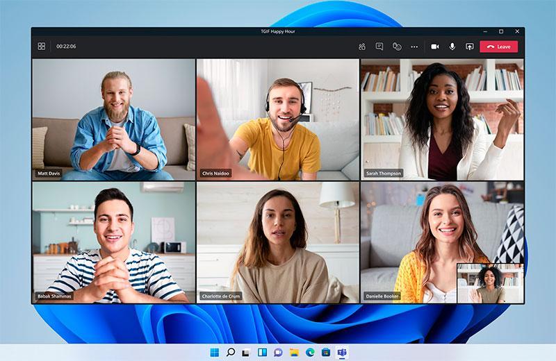 Видеозвонки Windows 11