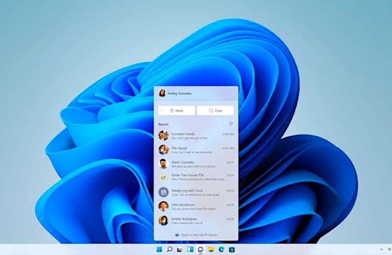 Панель задач Windows 11