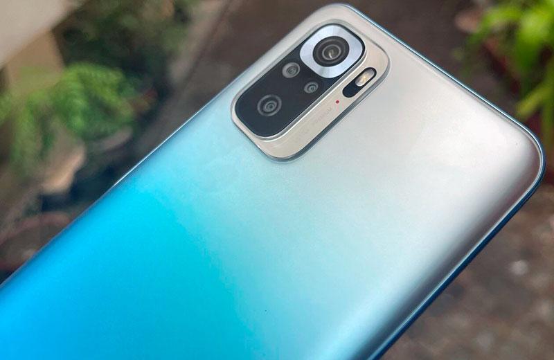 Xiaomi Redmi Note 10S камеры смартфона