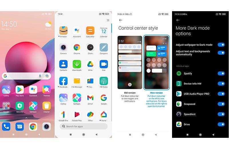 Xiaomi Redmi Note 10S ПО