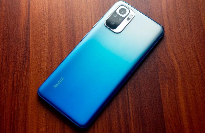 Дизайн Xiaomi Redmi Note 10S