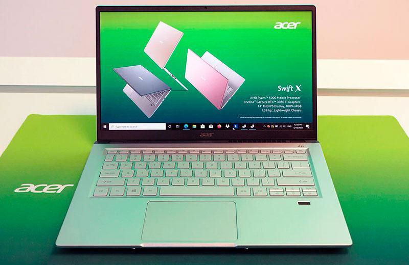 Обзор ноутбука Acer Swift X (SFX14-41G)