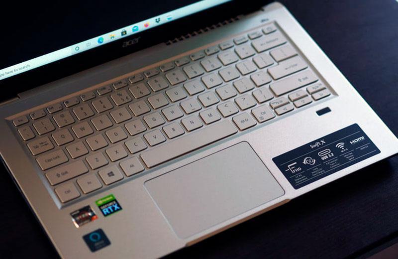 Клавиатура Acer Swift X