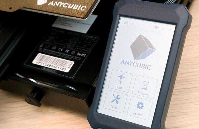 Anycubic Vyper дисплей управления