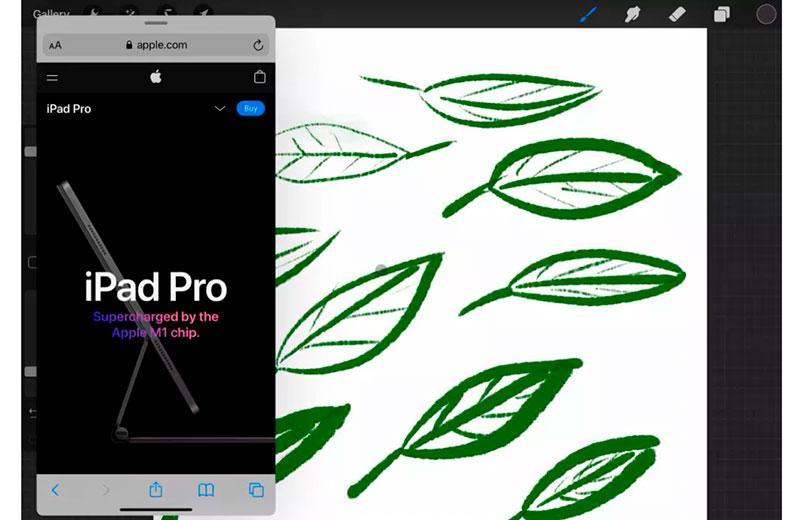 Apple iPad Pro 11 (2021) экранный режим