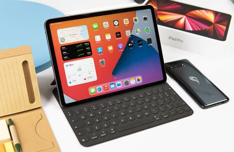 Apple iPad Pro 11 (2021) удобство работы