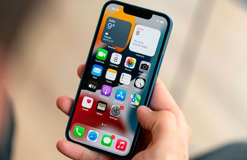 Система Apple iPhone 13 mini