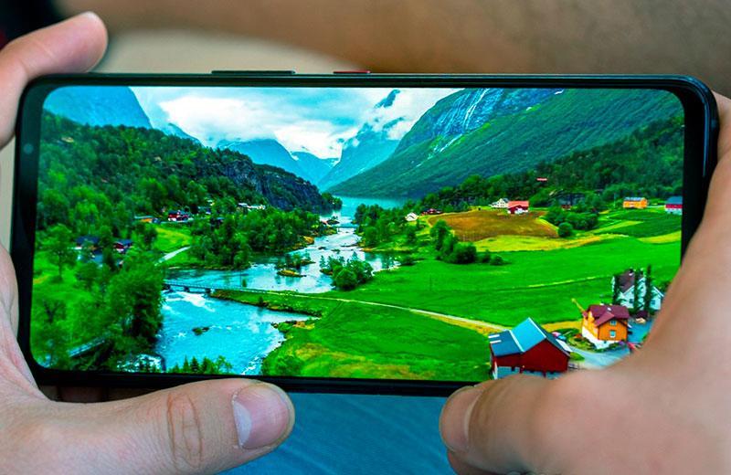 Дисплей Asus ROGPhone5s Pro