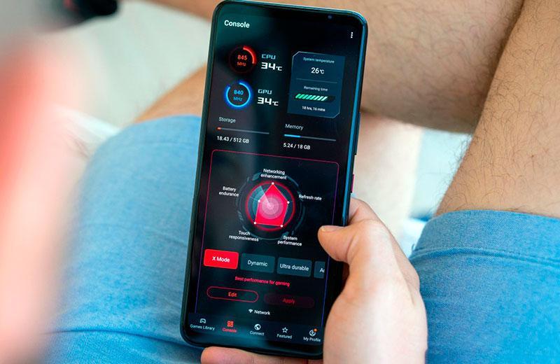 Asus ROGPhone5s Pro в работе