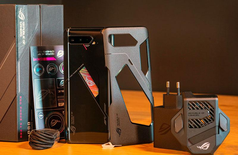 Asus ROGPhone5s Pro распаковка и комплект