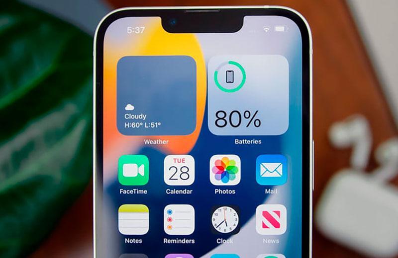 Apple iPhone 13 вырез