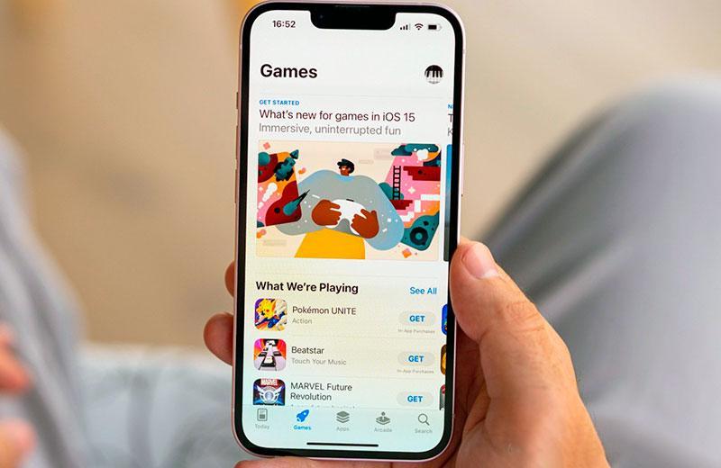 Apple iPhone 13 в играх