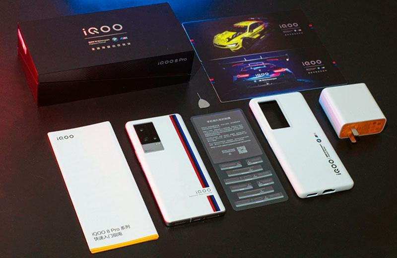 iQOO 8 Pro распаковка и комплект