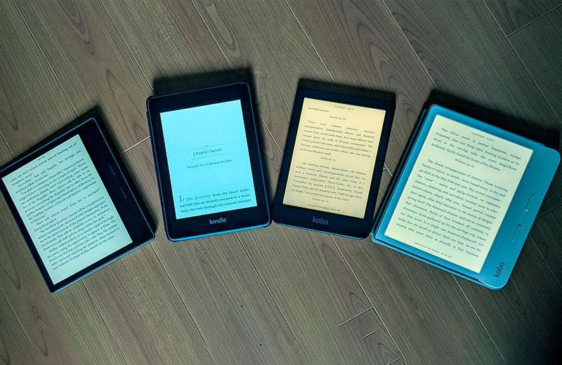 ТОП-5 электронных книг – рейтинг лучших