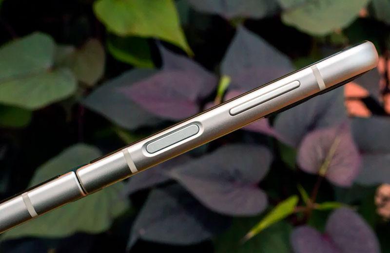 Samsung Galaxy Z Flip3 5G кнопки управления