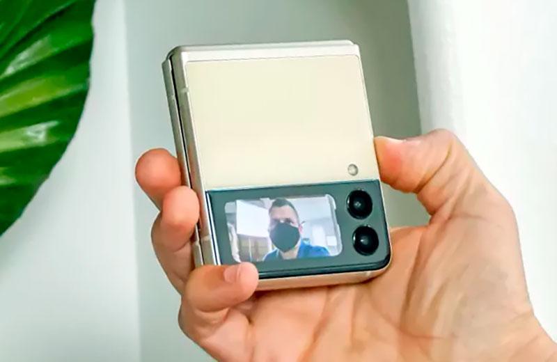 Samsung Galaxy Z Flip3 5Gкамера смартфона
