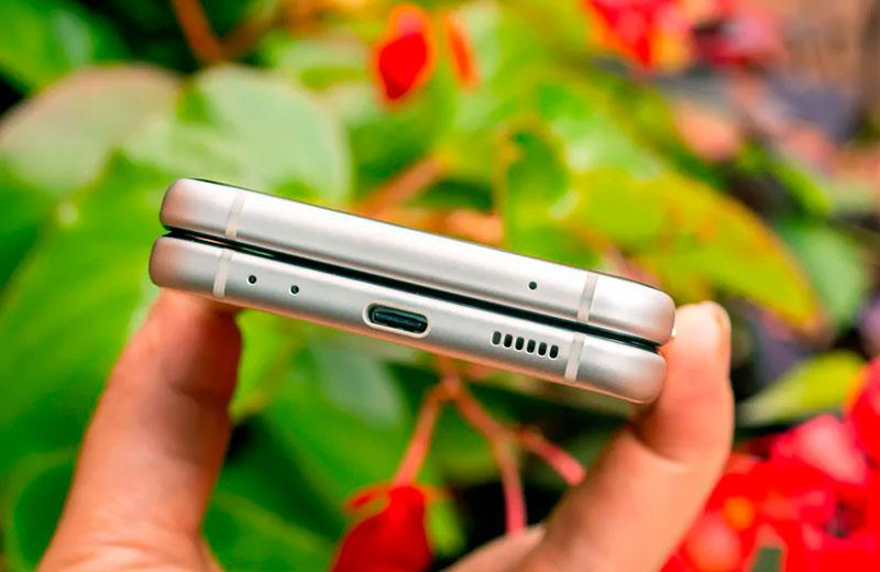 Звук Samsung Galaxy Z Flip3 5G